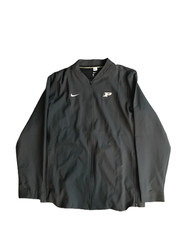 P.J. Thompson Purdue Team-Issued Zip-Up Jacket (Size L)