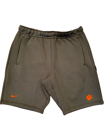 Patrick McClure Clemson Football Team Exclusive Sweat Shorts (Size L)