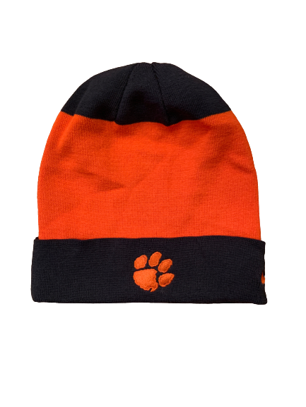 Patrick McClure Clemson Football Team Issued Beanie Hat