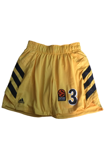 Peyton Siva Game Worn Authentic Alba Berlin Shorts (Size L)