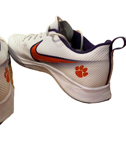 Patrick McClure Clemson Football Team Issued Training Shoes (Size 12)