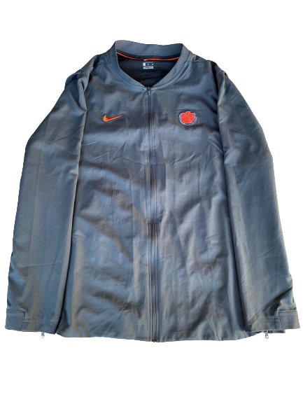 Patrick McClure Clemson Football Team Issued Travel Jacket (Size XL)