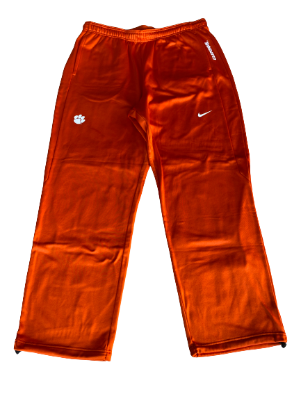 Patrick McClure Clemson Football Team Issued Sweatpants (Size XL)