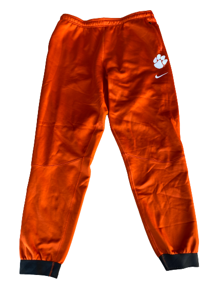 Patrick McClure Clemson Football Team Issued Travel Sweatpants (Size XL)