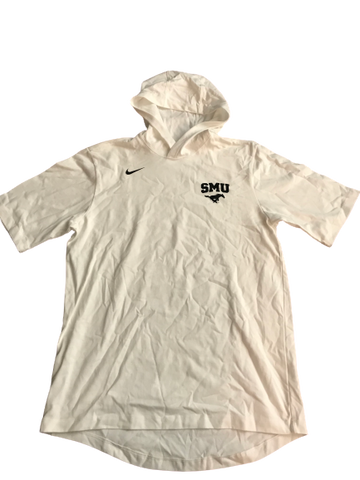 Nat Dixon SMU Team Issued Short Sleeve Hoodie (Size L)