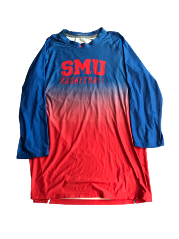 Nat Dixon SMU Basketball Team Issued Shirt (Size L)
