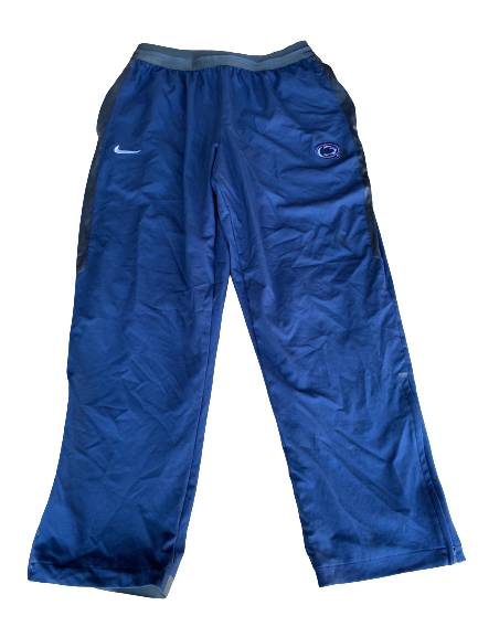 Jake Zembiec Penn State Football Team Issued Travel Sweatpants (Size XL)