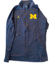 Derrick Walton Jr. Michigan Jordan Zip-Up Jacket (Size L)