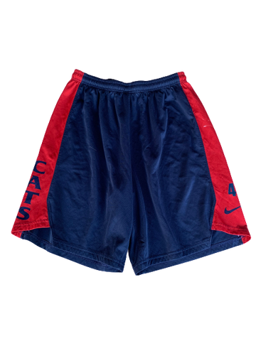 Chase Jeter Arizona Basketball Practice Shorts (Size XL)