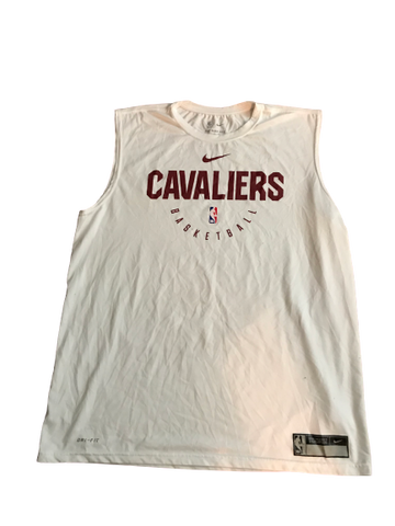 Javon Bess Cleveland Cavaliers Team Issued Sleeveless Shirt (Size XLT)