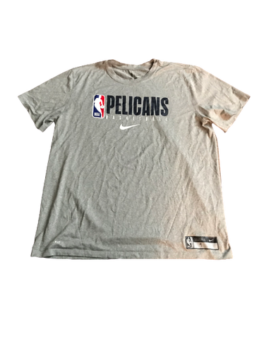 Javon Bess New Orleans Pelicans Team Issued Workout Shirt (Size XL)