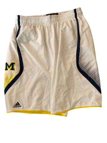 Derrick Walton Jr. Michigan Basketball 2013-2014 Game Worn Shorts
