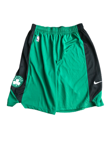Javon Bess Boston Celtics Team Issued Workout Shorts (Size LT)