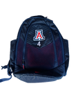 Chase Jeter Arizona Nike Backpack With Number