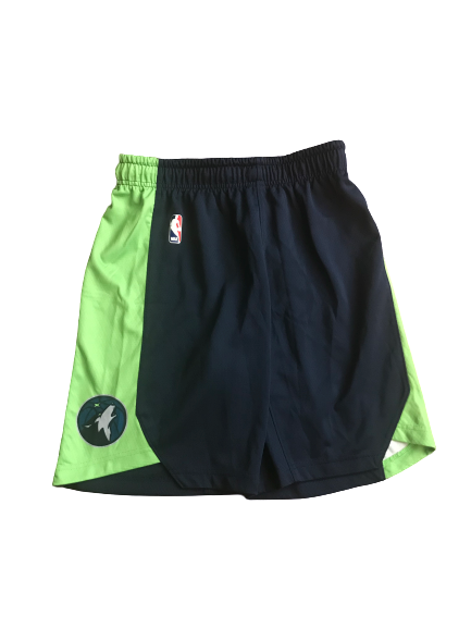 Josh Gray Minnesota Timberwolves Team Issued Workout Shorts (Size M)
