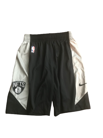 Josh Gray Brooklyn Nets Team Issued Workout Shorts (Size S)