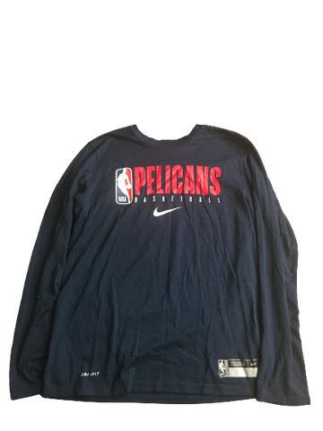Josh Gray New Orleans Pelicans Team Issued Workout Shirt (Size M)