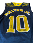 Derrick Walton Jr. Michigan Basketball Signed 2013-2014 Team Issued Limited Edition Jersey