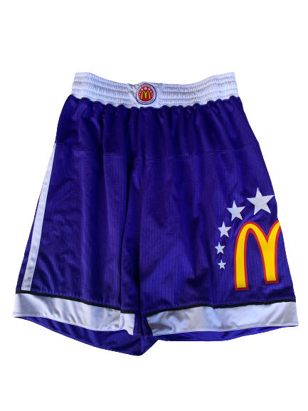 Chase Jeter McDonald's All-American Skills Competition Worn Shorts (Size XL)