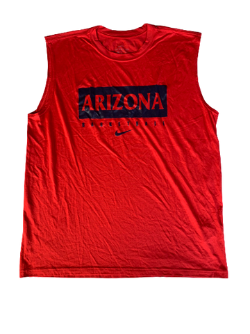 Chase Jeter Arizona Basketball Nike Workout Tank (Size XL)