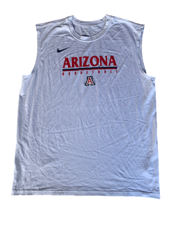 Chase Jeter Arizona Basketball Nike Elite Workout Tank (Size XL)