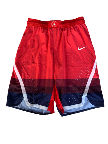 Chase Jeter Arizona Basketball 2017-2018 Redshirt Season Game Shorts (Size 38)