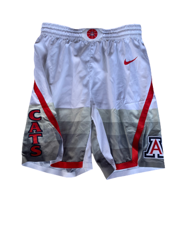 Chase Jeter Arizona Basketball 2019-2020 Season Game-Worn Shorts (Size 38)