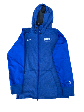 Imani Dorsey Duke Soccer Team Issued Full-Zip Jacket (Size S)