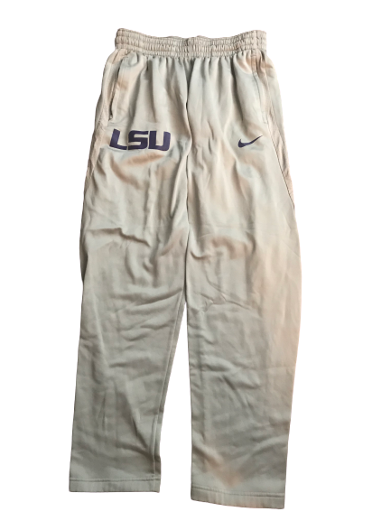 LSU Basketball Team Issued Sweatpants (Size L)