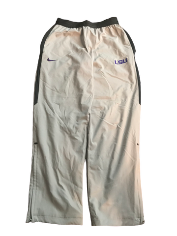 LSU Basketball Team Issued Sweatpants (Size M)