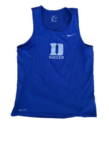 Imani Dorsey Duke Soccer Team Issued Tank (Size Women's S)