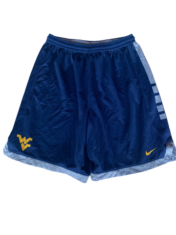 Logan Routt West Virginia Basketball Practice Shorts (Size XL)