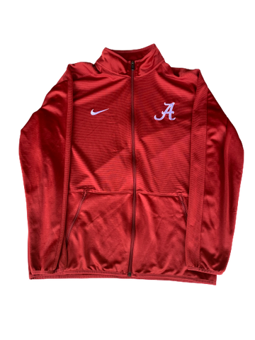 Lawson Schaffer Alabama Nike Zip-Up Jacket (Size L)