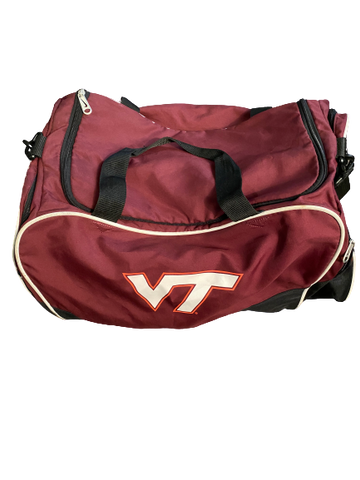 Luther Maddy Virginia Tech Team Issued Travel Duffel Bag