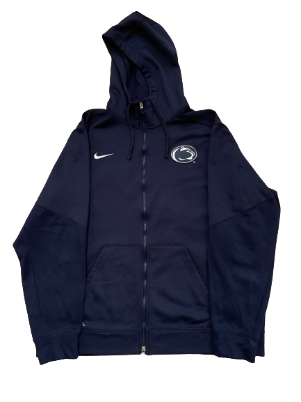 Tom Pancoast Penn State Team Issued Full-Zip Travel Jacket (Size XXL)