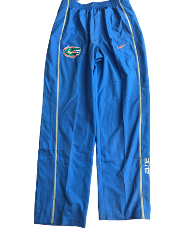 Chris Walker Florida Team Exlclusive Warm-Up Rip-A-Way Sweatpants (Size XL)