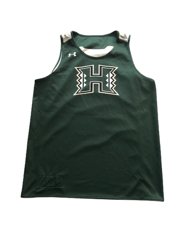 Zigmars Raimo Hawaii Basketball Reversible Practice Jersey (Size XL)