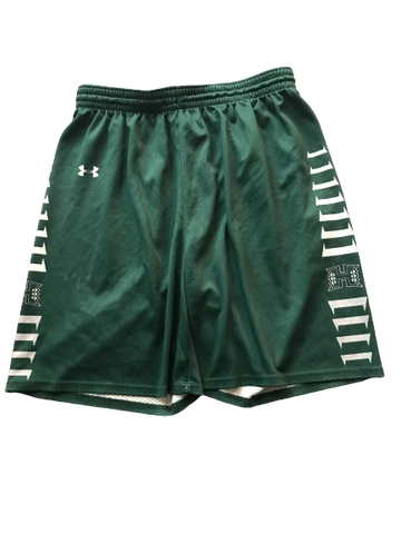 Zigmars Raimo Hawaii Basketball Team Issued Practice Shorts (Size XXL)