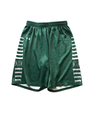 Zigmars Raimo Hawaii Basketball Team Issued Practice Shorts (Size XL)