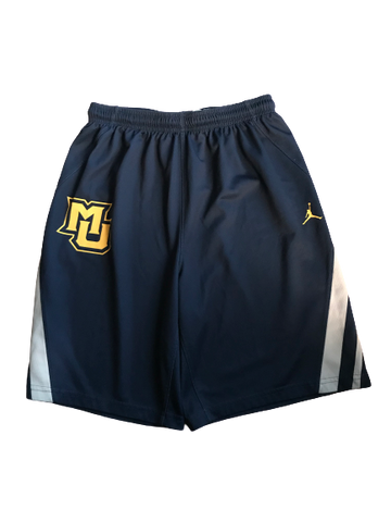 Markus Howard Marquette Basketball Team Issued Practice Shorts (Size M)