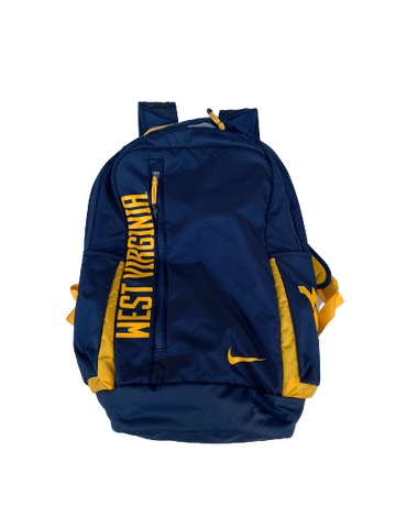 Logan Routt West Virginia Team-Issued Nike Backpack