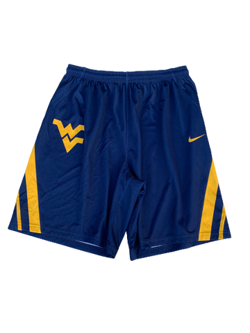 Logan Routt West Virginia Basketball Nike Practice Shorts (Size XL)