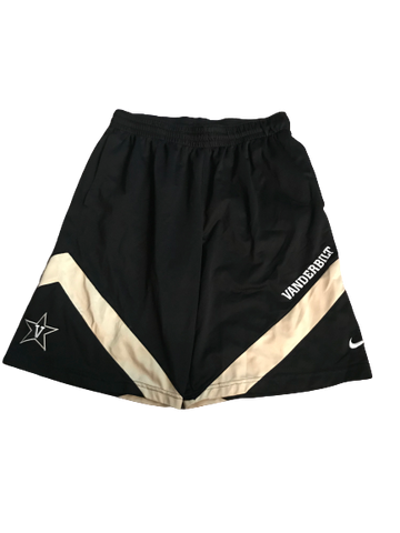 Riley LaChance Vanderbilt Basketball Team Issued Workout Shorts (Size L)
