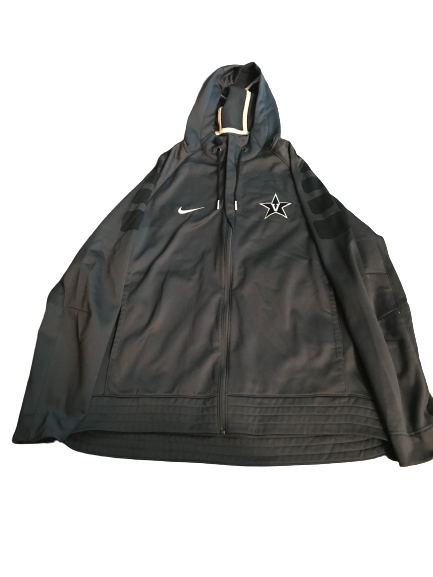 Riley LaChance Vanderbilt Basketball Team Issued Travel Jacket (Size L)