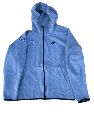 Desmond Bane TCU Team Issued Full-Zip Jacket (Size XL)