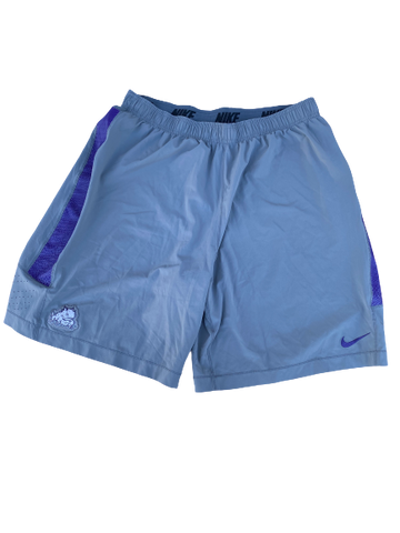 Desmond Bane TCU Team Issued Workout Shorts (Size XXL)