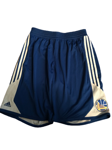 Riley LaChance Golden State Warriors Team Issued Workout Shorts (Size XXL)