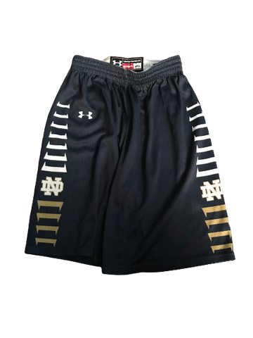 Rex Pflueger Notre Dame Team Issued Practice Shorts (Size M)