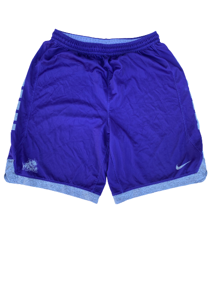 Desmond Bane TCU Team Issued Practice Shorts (Size L)
