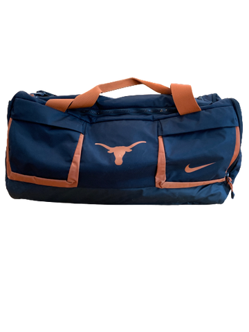 Tim Yoder Texas Football Team Issued Travel Duffel Bag